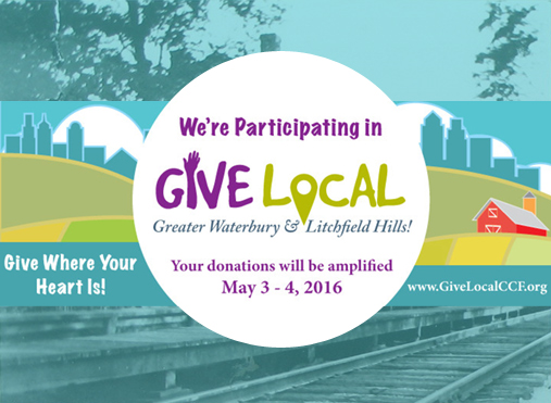 we're part of give local!